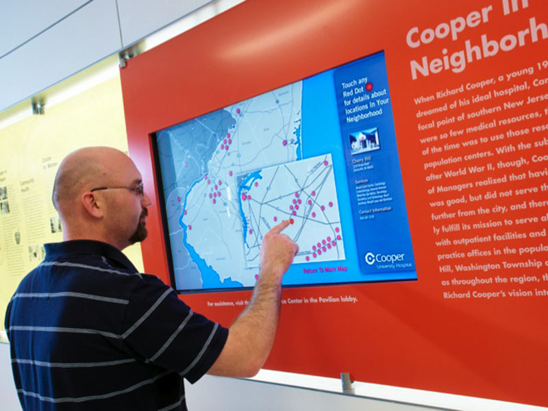 Cooper University Hospital – AGS   Signature and Graphics Manufacturing