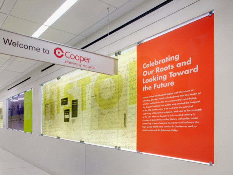 Cooper University Hospital - AGS | Signature and Graphics